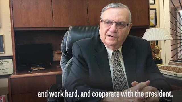 Arpaio says time for 'new blood' in Senate