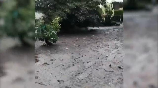 Mudslide Reaches Oprah's Backyard
