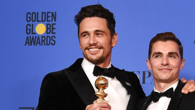 James Franco wins CCA trophy amid sexual misconduct claims
