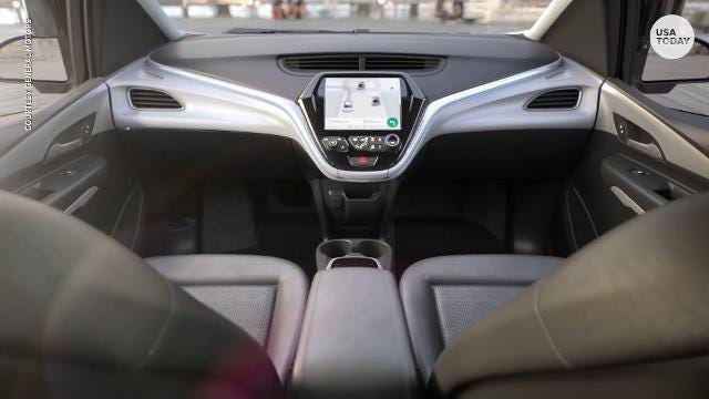 GM's latest self-driving auto  has no steering wheel or pedals