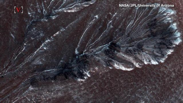 More ice on Mars surface could be water source for humans