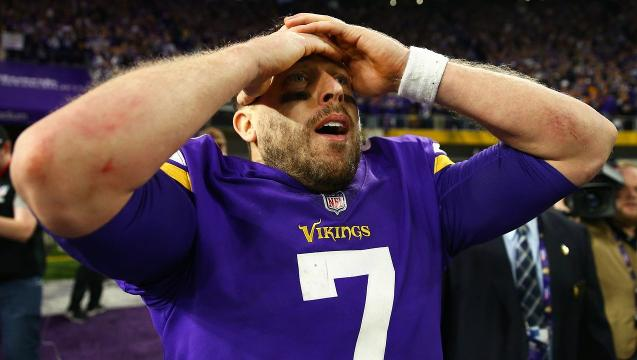NFL divisional playoffs: Vikings stunner caps shocking weekend