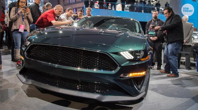 Ford Shows Off  Mustang Bullitt Finds Original  Fastback At Detroit Auto Show