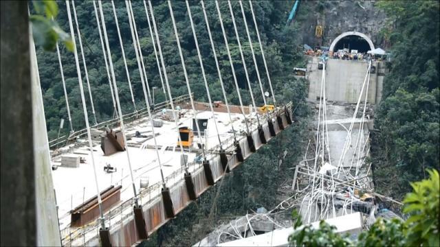 Colombian bridge collapse kills at least 10