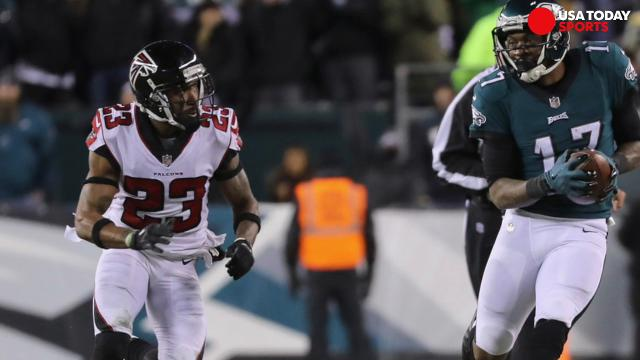 SportsPulse: NFL insiders Lindsay H. Jones and Lorenzo Reyes discuss the matchups that will determine whether it will be the Vikings or Eagles to represent the NFC in Super Bowl LII.