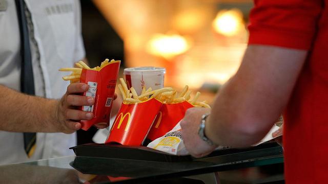 McDonald's plans to go green