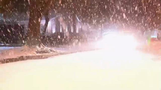 Winter storm impacts Capital Region