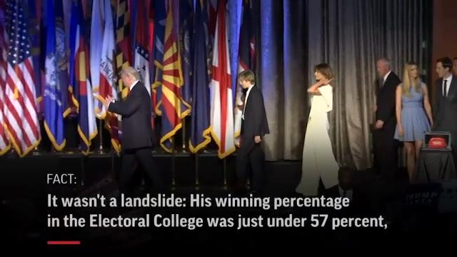 Fact Check: Trump's alternate reality