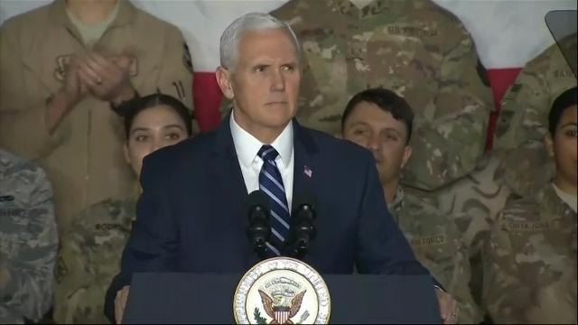 Pence: Senate playing politics with military pay