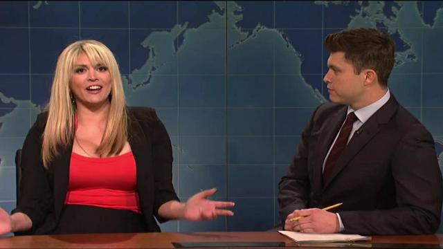 Stormy Daniels is a liberal hero on 'SNL'