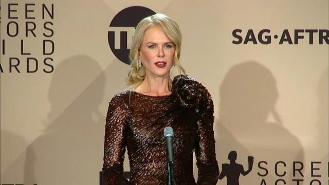 Kidman's mission to 'eradicate violence against women'
