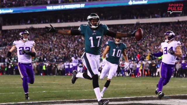 First look at Super Bowl LII: Patriots vs. Eagles