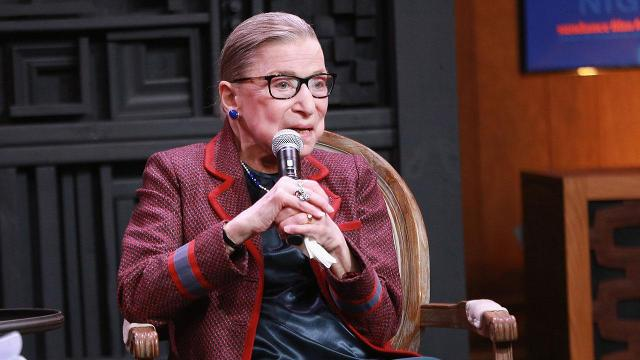 Ruth Bader Ginsburg talks #MeToo movement