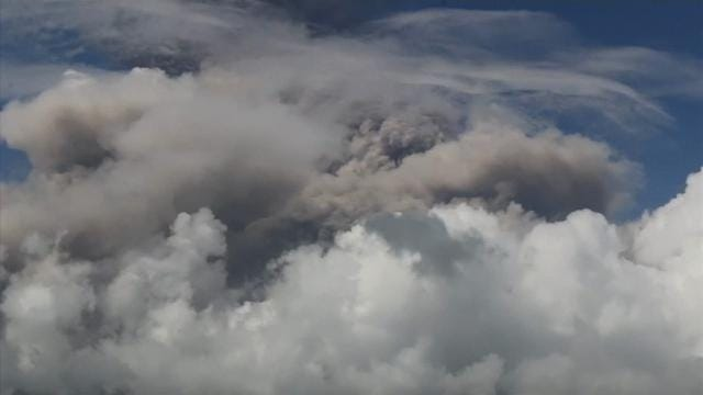 Alert level raised as Philippine volcano explodes
