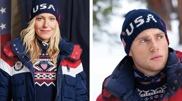 Exclusive Ralph Laurens Olympic Uniforms Are Wearable Mini Heaters