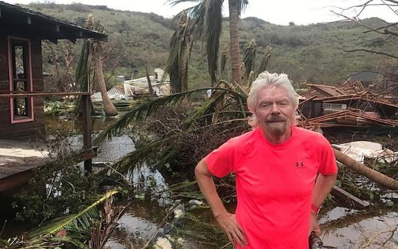 Richard Branson's Necker Island suffered severe damage from Hurricane Irma, but recovery is in sight.