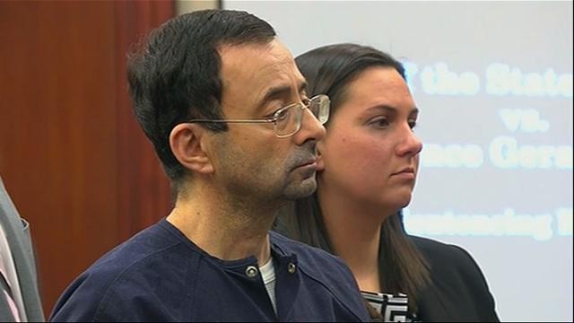 Nassar: Victims' words 'shaken me to my core'