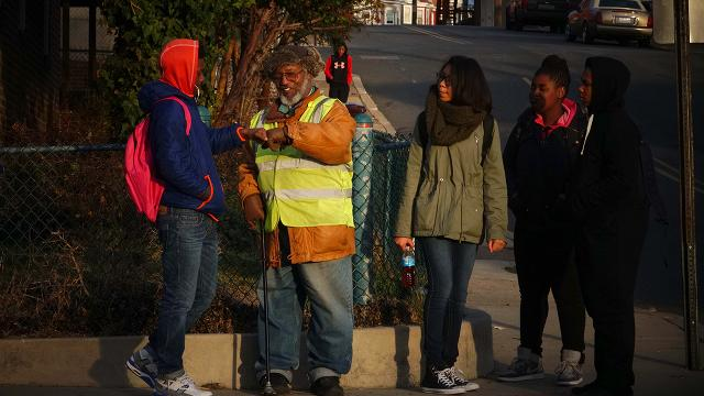 Crossing guard volunteers his time to shape lives