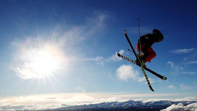 Why skiing is a ridiculously good workout