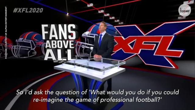 Vince McMahon is reviving the XFL