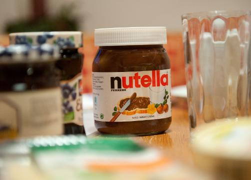 Nutella 'riots' break out in France