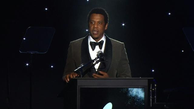 Man behind Grammys faces backlash after telling women to 'step up.'