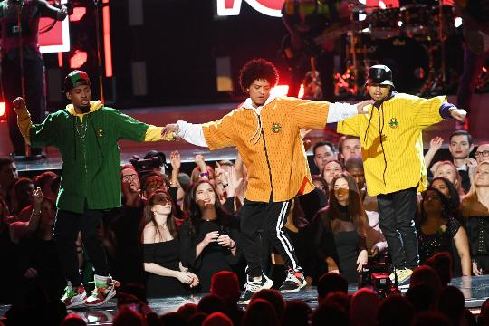 Grammy Awards 2018: Bruno Mars wins six honors