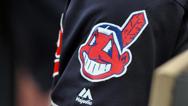 Major League Baseball says the Cleveland Indians will stop using the Chief Wahoo logo on their uniforms starting in the 2019 season.
