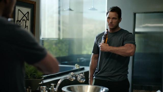 Training to become Michelob ULTRA's spokesperson isn't easy, but nothing will stop Chris Pratt from making his fit and fun Super Bowl debut.