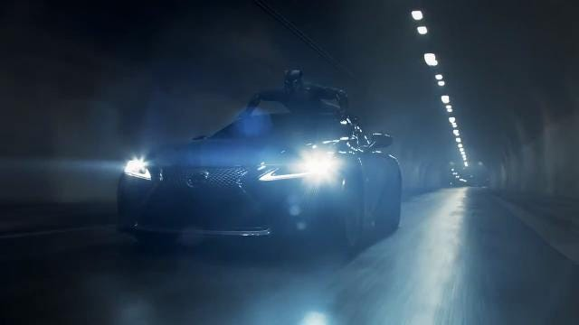 Chadwick Boseman stars in this Black Panther themed Lexus LS 500 Super Bowl ad.