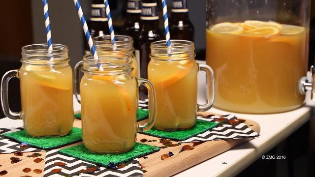 Big game beer punch recipe