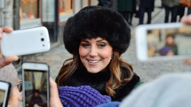 ed01e4c6ec6 Duchess Kate surprises in a fashion head-scratcher on Nordic trip