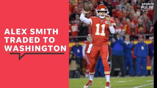 Alex Smith traded to Washington Redskins
