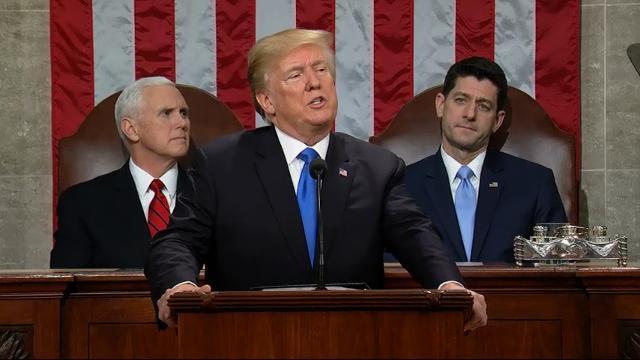 Trump recognizes victims of North Korea cruelty