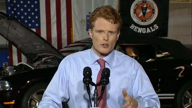 Rep. Joe Kennedy to challenge fellow Democrat Ed Markey for Senate seat in Massachusetts