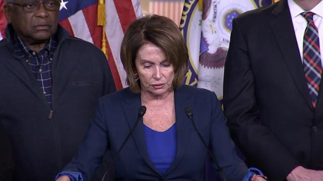 Pelosi: Dreamers being held hostage by president