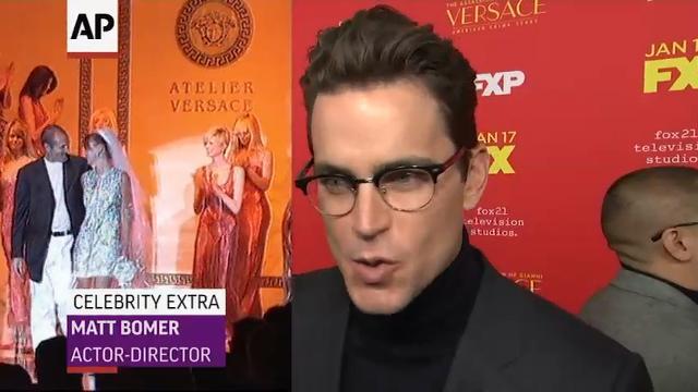 ec98c1a887920 Matt Bomer talks directing  Versace