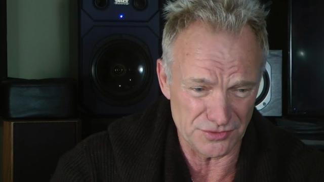 Sting: don't make me into a hologram