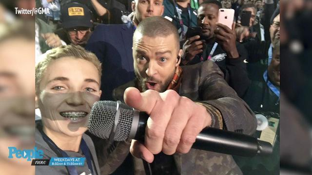 The Justin Timberlake selfie kid takes over the internet