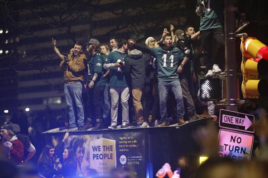 Fly, Eagles, Fly! Fans rejoice in historic Super Bowl win