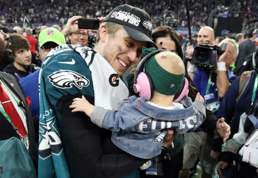 Nick Foles offers inspiring words of advice on failure