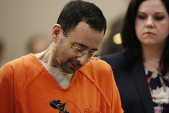 Nassar's final sentencing for decades of sexual abuse