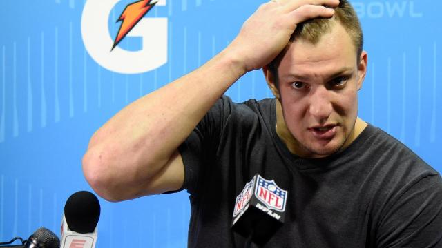 Authorities are looking into a possible break-in at the residence of New England Patriots tight end Rob Gronkowski, according to multiple media reports.
