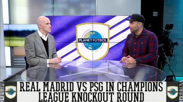 Grant and Luis talk about the upcoming matchup between Real Madrid and PSG in the Champions League round of 16.