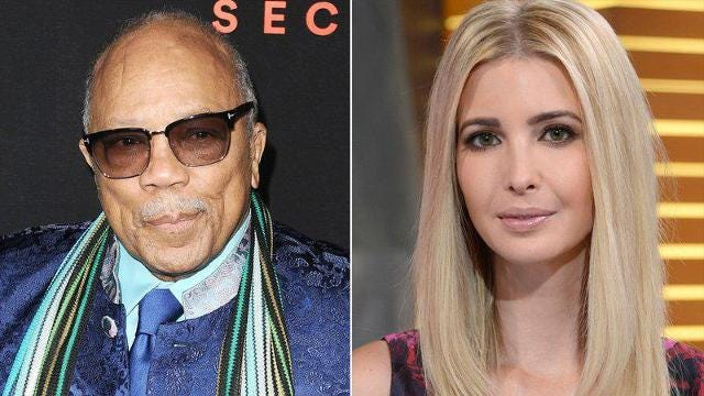 In a twist that no one saw coming, Quincy Jones has claimed in a new interview that he once dated Ivanka Trump.