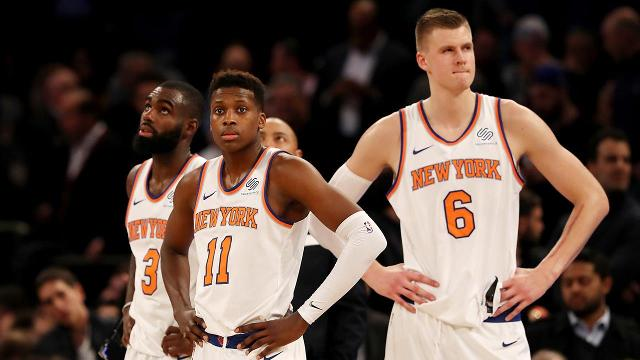 Knicks are NBA's highest valued team