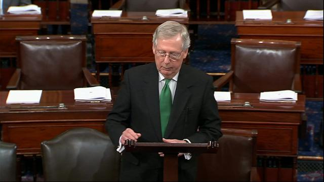 Senate leaders unveil sweeping budget deal; House may still reject it