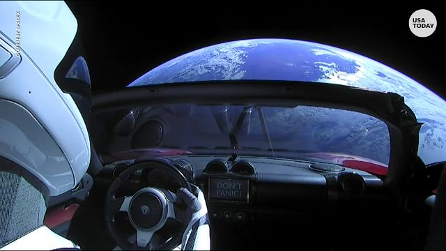 How And Why A Tesla Roadster Now Orbits Earth - A tesla