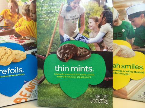 girl scout reportedly sells 300 of cookies outside of