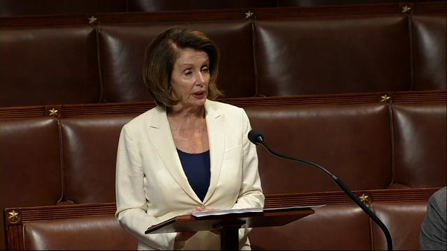 Pelosi makes epic, hours long speech for DACA